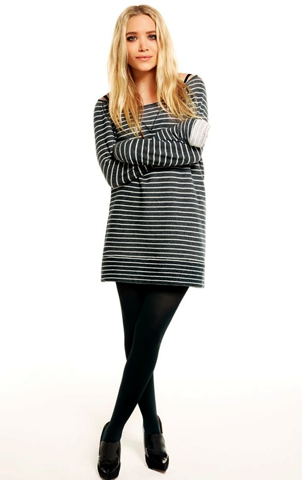 Olsens-Anonymous-Blog-Mary-Kate-Ashley-Olsen-13-Ways-To-Wear-Stripe-Tops-Like-The-Olsen-Twins-Oversized-Sweater