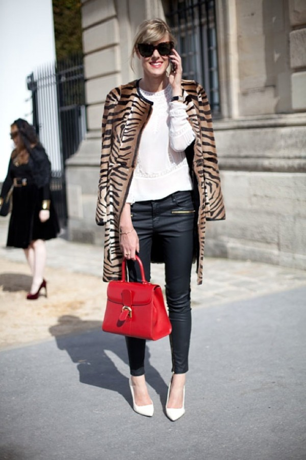 PFW-PARIS-FASHION-WEEK-STREET-STYLE-SS-SPRING-SUMMER-2013-ANIMAL-PRINT-COATS-ZEBRA-LEATHER-SKINNY-PANTS-ANKLE-ZIPPERS-RED-LADYLIKE-BAG-OVERSIZED-SUNGLASSES-WHITE-EMBROIDERED-TOP-WHITE-PUMPS-VIA-HARPERS-BAZAAR