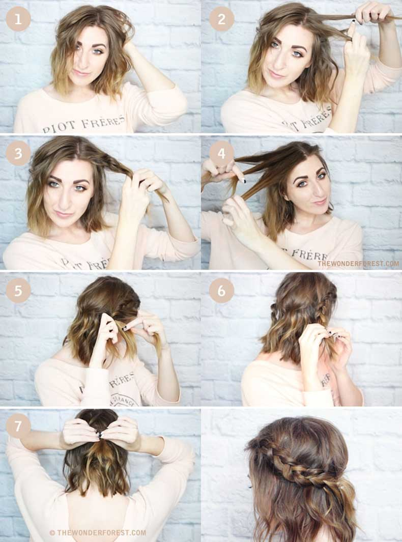 Half,Crown,Braid,Tutorial