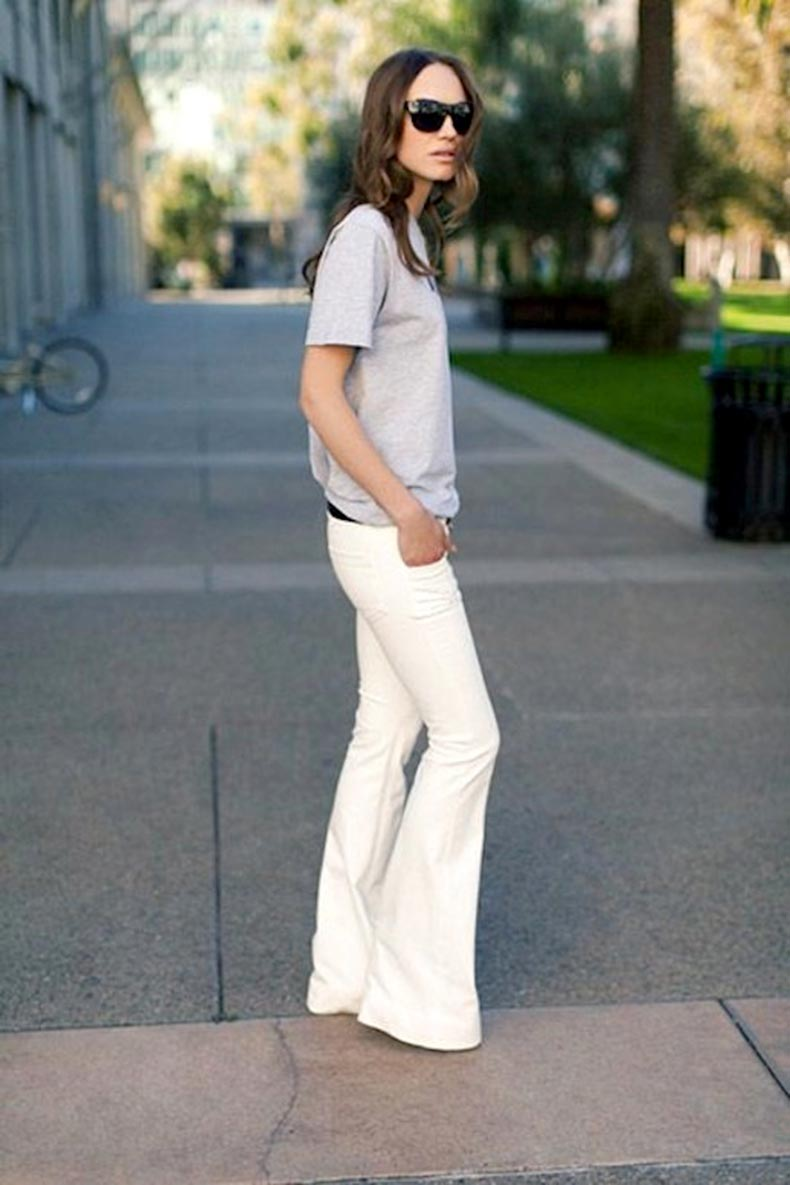5-Le-Fashion-Blog-30-Fresh-Ways-To-Wear-White-Jeans-Grey-Tee-Flared-Denim-Via-Emerson-Fry