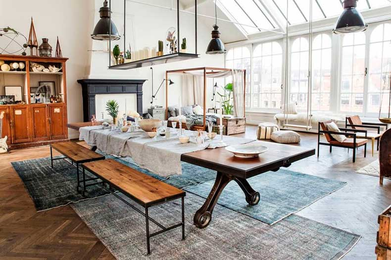 Oracle-Fox-Sunday-Sanctuary-The-Loft-Pop-Up-Shop-Industrial-Interior-1