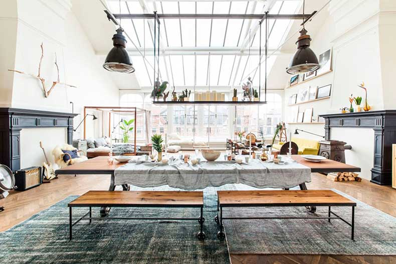 Oracle-Fox-Sunday-Sanctuary-The-Loft-Pop-Up-Shop-Industrial-Interior