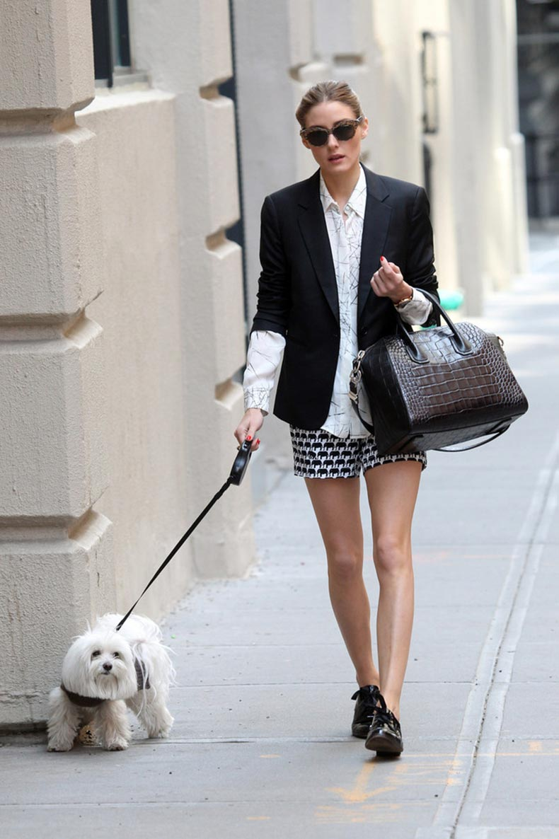 Olivia_Palermo_wearing_dark_blazer_white_blouse