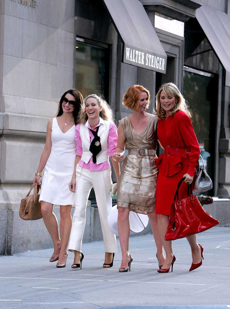 43 lecciones de estilo que aprendimos de carrie bradshaw for Colors that pop out