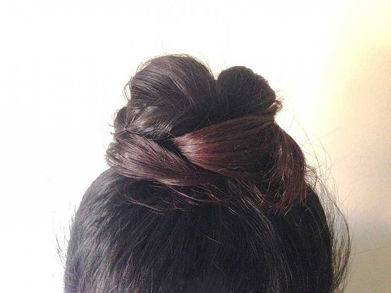 Braided-Topknot