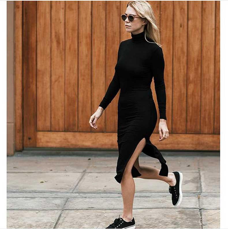 Side-Slit-Dress-Slip--Sneakers