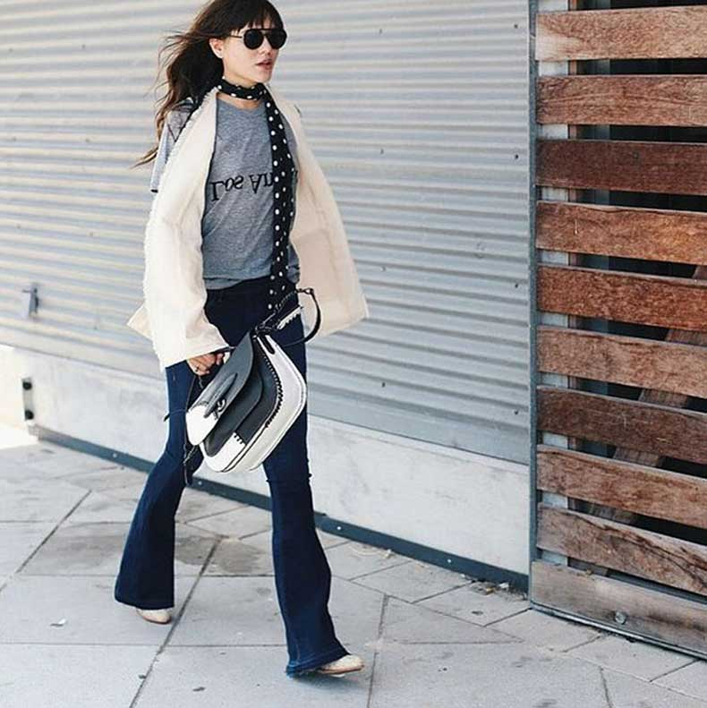 Knotted-Over-One-Side-Achieve-Parisian-Chic-Look