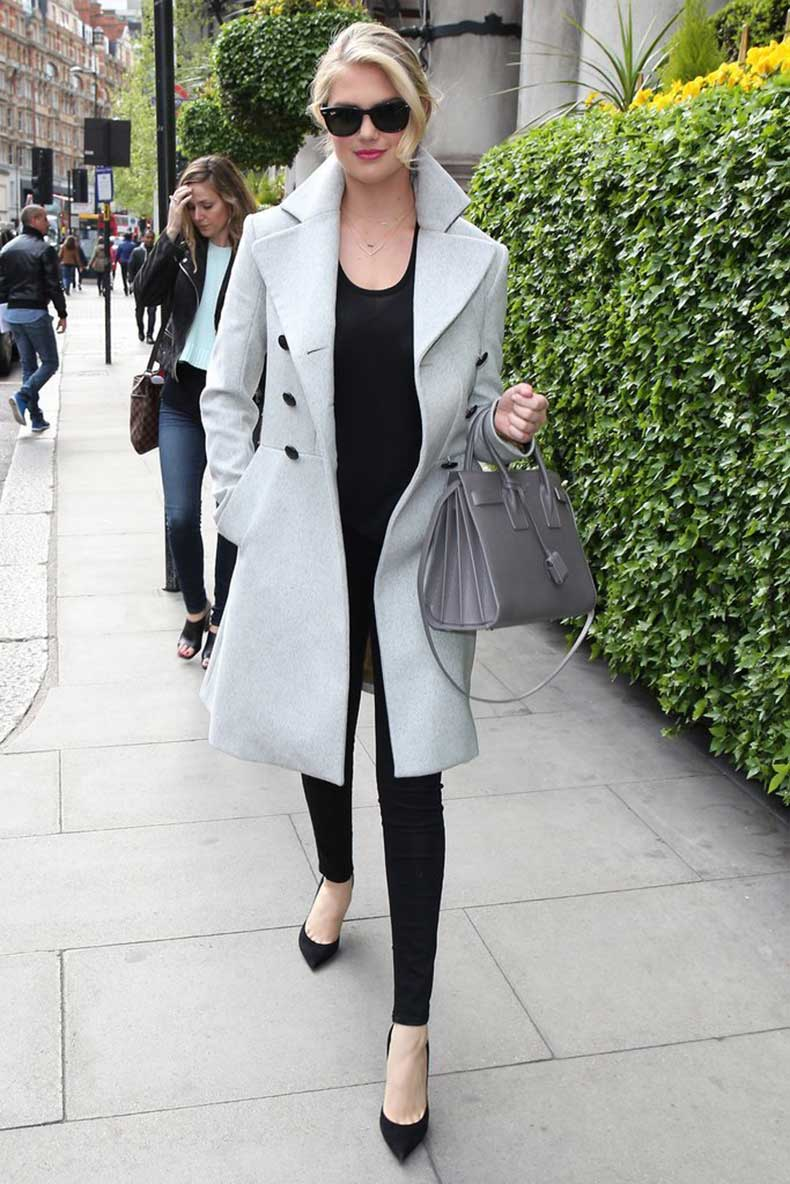 Kate-Upton-let-her-gray-coat-do-talking-wearing-all-black