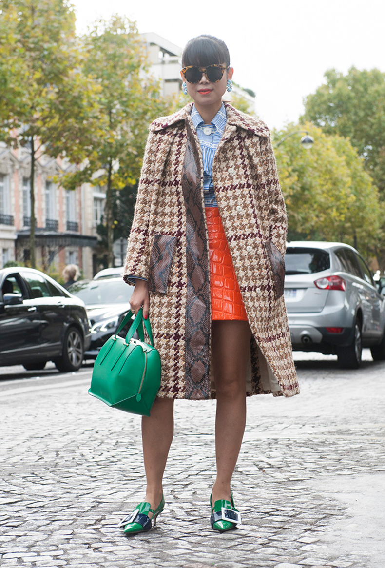 how-to-wear-orange-outfit-leaf-greener