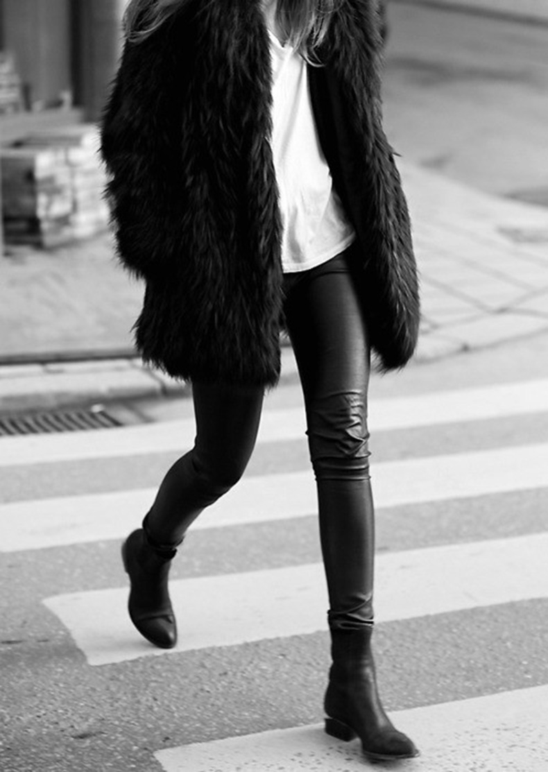 black-leather-skinnies-black-fur-coat-white-tee-black-and-white-black-chelsea-boots-ankle-boots-via-breakfastwithaudrey.com_.au_