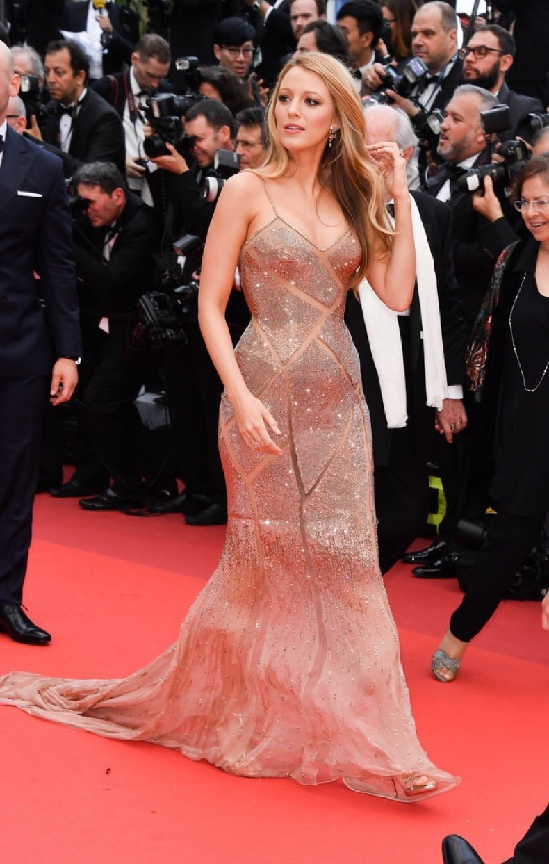 Blake-Lively-vision-shimmering-cutout-gown-red