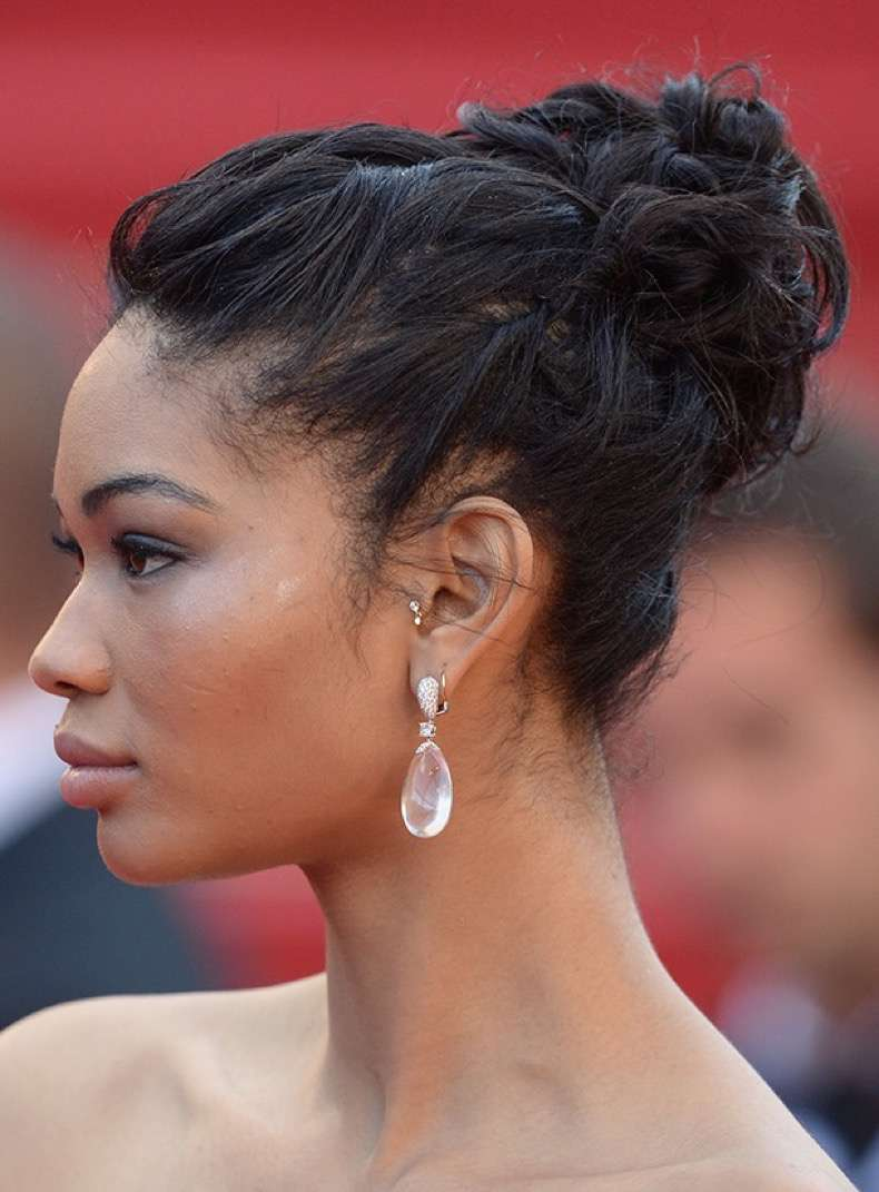 CANNES, FRANCE - MAY 21: Chanel Iman attends the 'Cleopatra' premiere during The 66th Annual Cannes Film Festival at The 60th Anniversary Theatre on May 21, 2013 in Cannes, France. (Photo by Dave J Hogan/Getty Images)