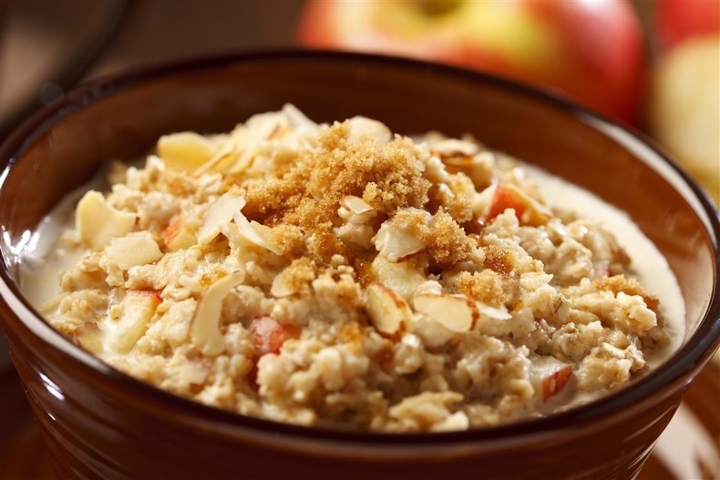 Apple-cinnamon-oatmeal