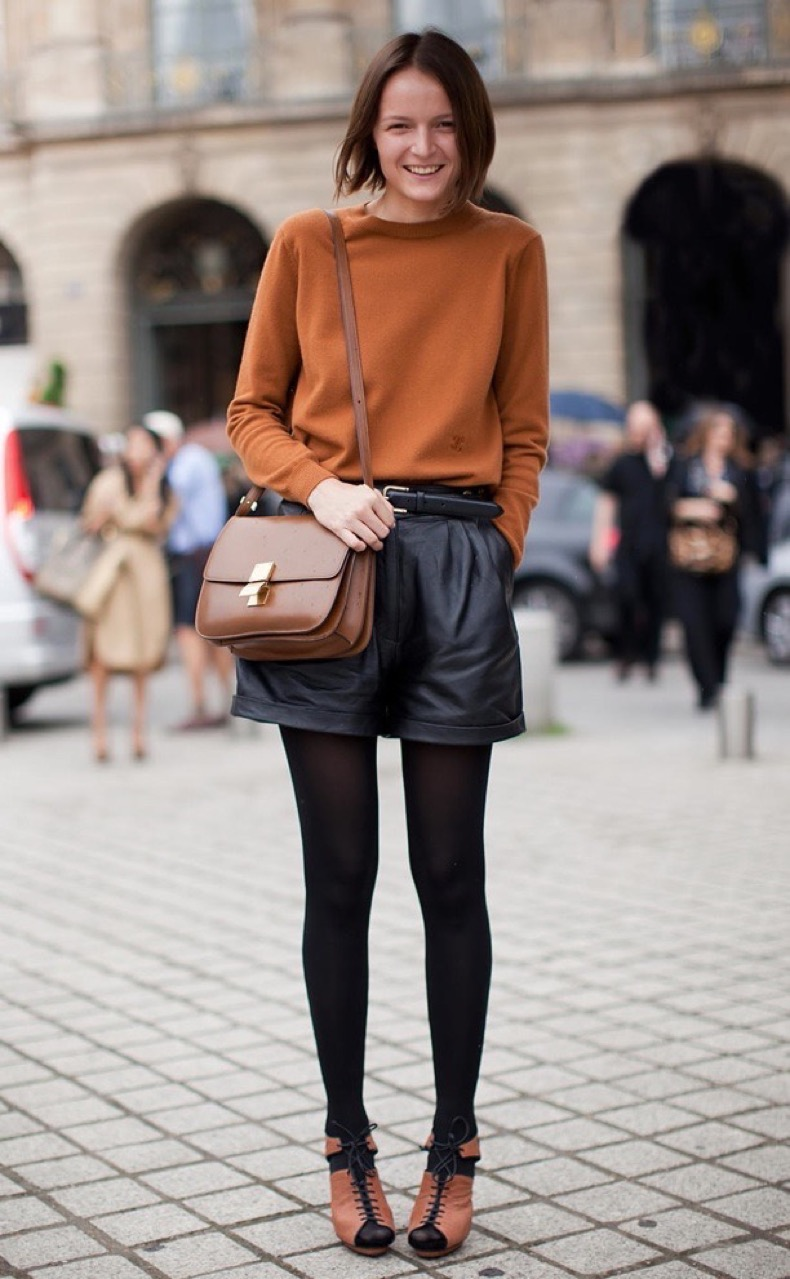Impressive-collection-of-sweater-and-shorts-outfit-for-street-style-24