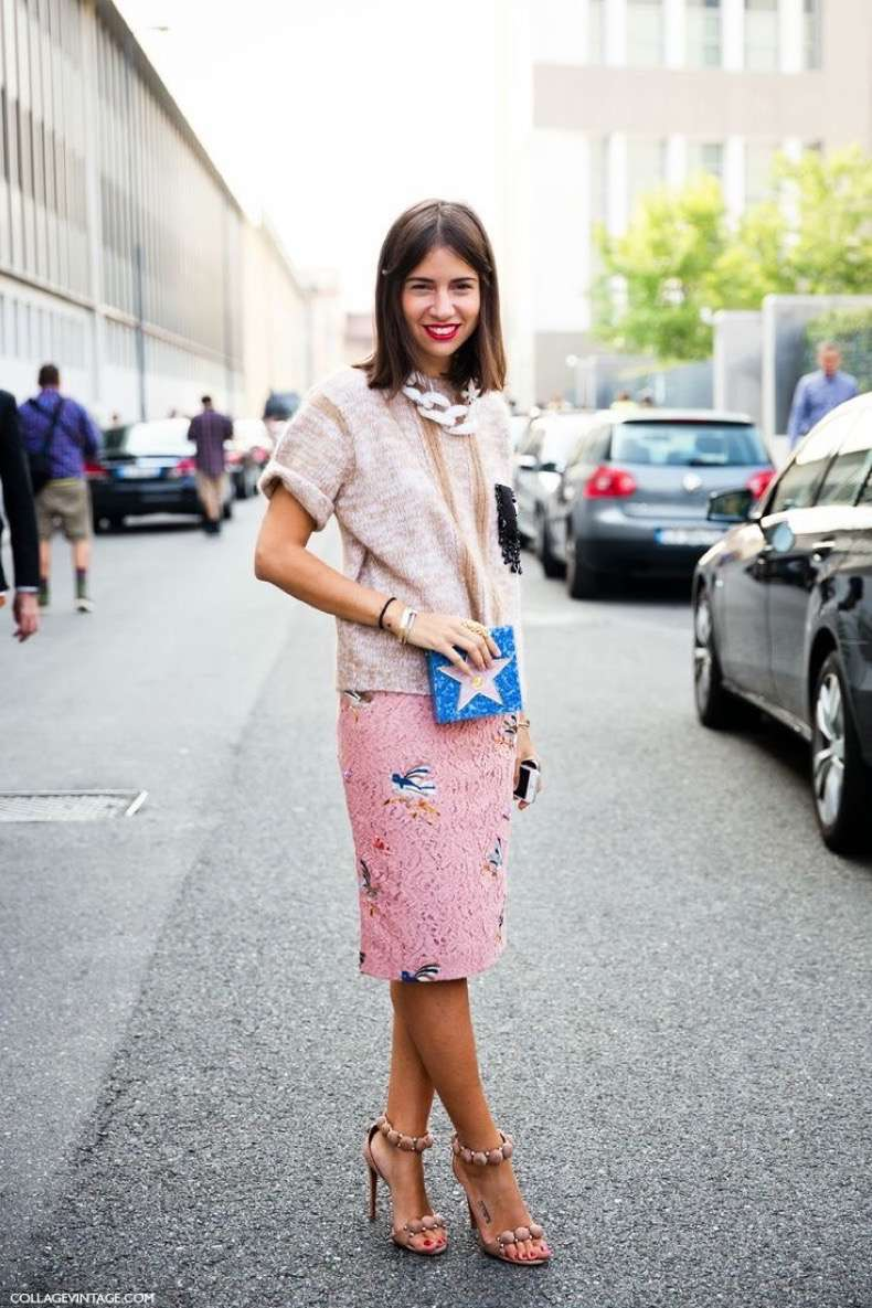 easter-spring-pastels-work-printed-skirt-lace-big-chain-necklace-via-pinterest