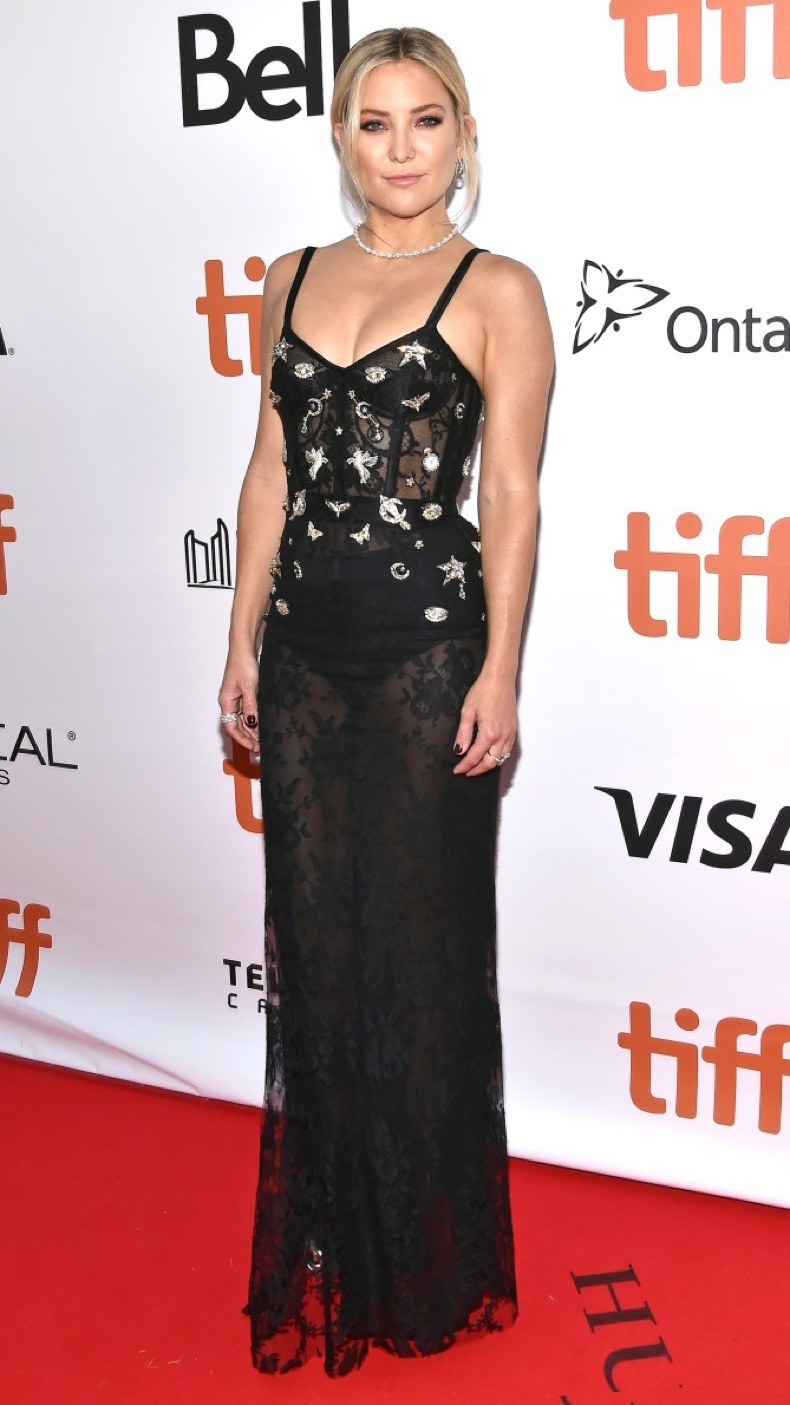 """Actress Kate Hudson attends the """"Deepwater Horizon"""" Premiere during the 2016 Toronto International Film Festival at Roy Thomson Hall, in Toronto, Canada, on September 13, 2016. (Photo by Anthony Behar) *** Please Use Credit from Credit Field ***"""