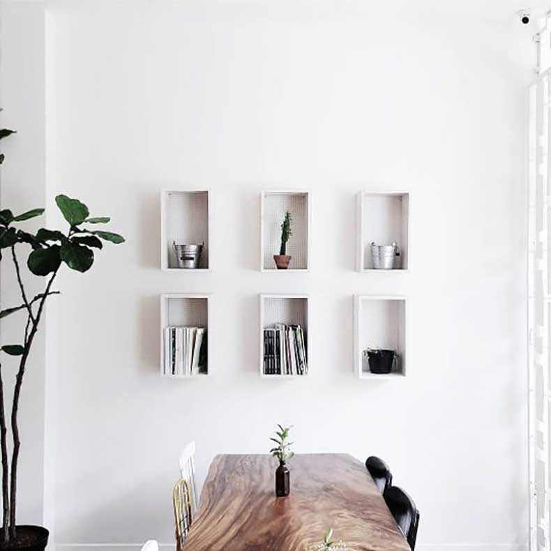 10 ideas minimalistas para aplicar en las murallas de tu for Ideas para decorar mi hogar